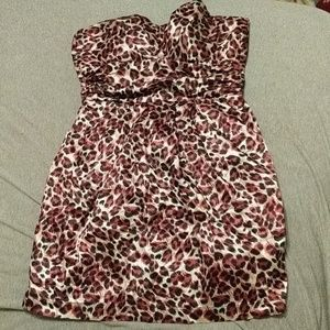 Charlotte Russe Short Dress Strapless